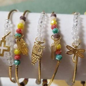 Jewelry - 14k gold plated Handmade Semanario Set